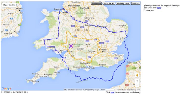 Blakney Map